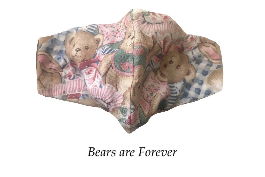 Bears are Forever Face Mask