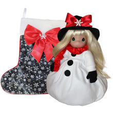 "2020 Annual 16"" Christmas Stocking Doll - Snow Much Fun"