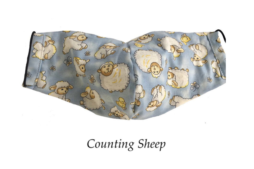 Counting Sheep Face Mask