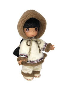 "USA Eskimo Sulu, Children of the World - 9"" Doll"