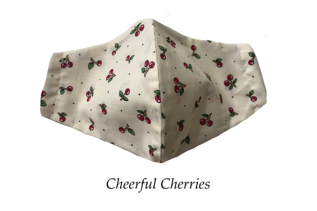Cheerful Cherries Face Mask