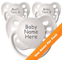 Classic Boys Personalised Dummy Pack