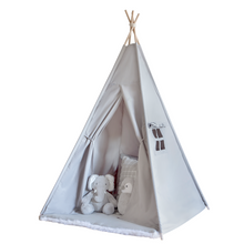 Kids Teepee Tent - Grey