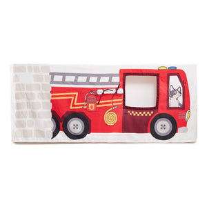 Fire Truck + Station Table Tent
