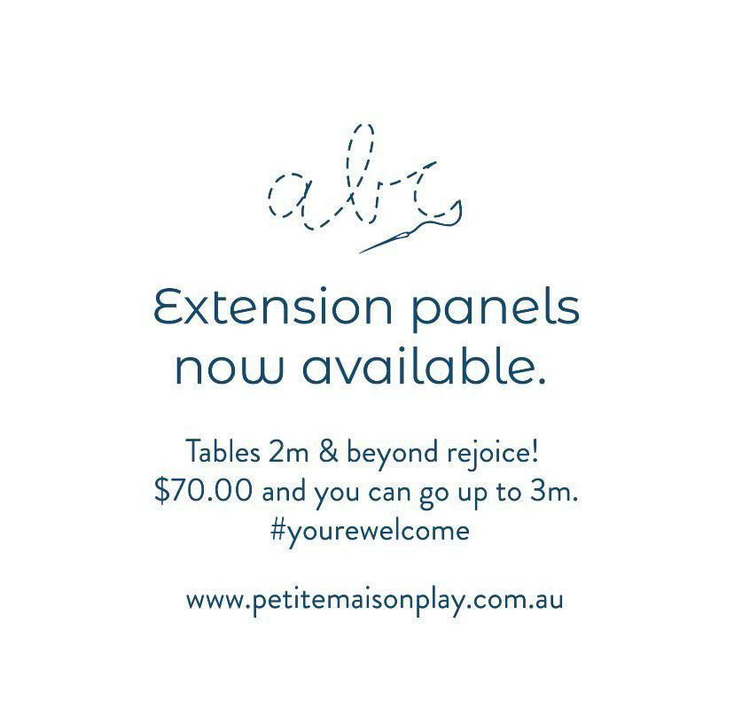 PRE-ORDER EARLY DECEMBER | Extension Panels