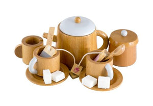 MAKE ME ICONIC - WOODEN TEA SET