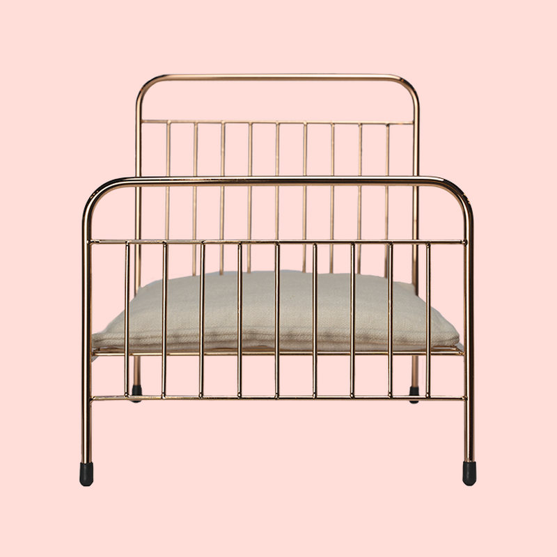 Mini Eden Bed in Rose Gold