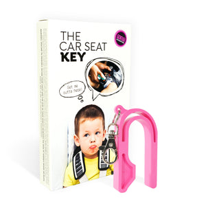The Car Seat Key - NEON PINK