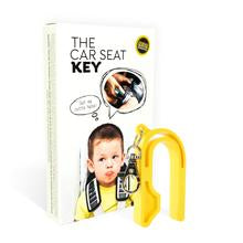 The Car Seat Key - NEON YELLOW