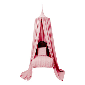 Organic Cotton Canopy - Dusty Pink
