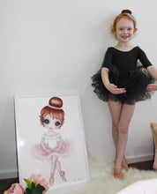 Ruby The Ballerina Print Av pink/lilac