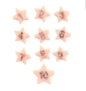 Sparkly Star Birthday Badge