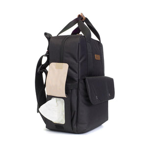 PRE-ORDER MID JULY | Georgi eco Convertible Backpack Black