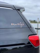 #mumlife Car Decal LIMITED EDITION LEOPARD PRINT