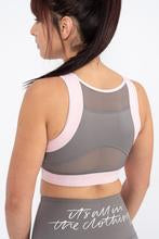 Gym Secrets - Stone & Blush Sports Bra