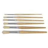 Round Paint Brushes (6 Pack)