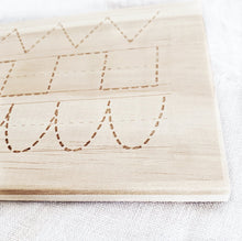 Tracing Lines and Shapes Board - double sided