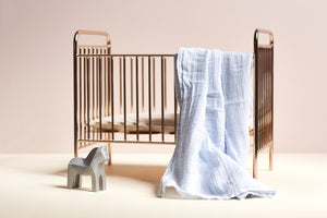 Mini Ellie Cot in Rose Gold