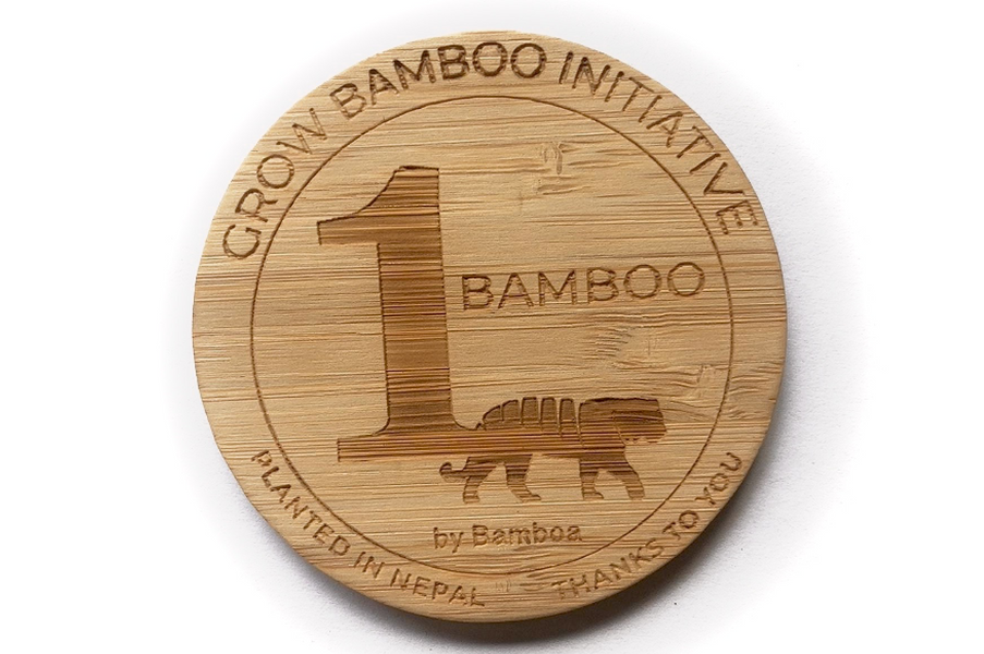 "Plant a bamboo in Nepal with the ""Grow Bamboo Initiative"" by Bamboa"