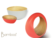 Load image into Gallery viewer, Bamboa Loop Bamboo Fruit Bowl