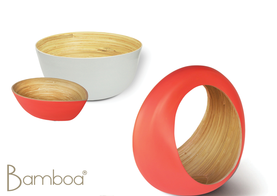 Bamboa Loop Bamboo Fruit Bowl