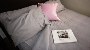 Bamboa Bamboo, organic cotton and linen blend pillowcase