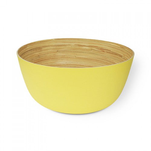 Bamboa Kitchen Bamboo Carlito Bowl Yellow