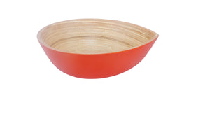Bamboa Spira Bamboo Tear Bowl Red