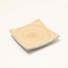 Load image into Gallery viewer, Bamboa Piatto Bamboo Square Plate Duckshell