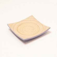 Load image into Gallery viewer, Bamboa Piatto Bamboo Square Plate Lavender
