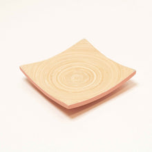 Load image into Gallery viewer, Bamboa Piatto Bamboo Square Plate Flamingo