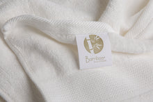 Load image into Gallery viewer, Bamboa towels made of 100% bamboo for an eco-firendly and organic home. Available in white.