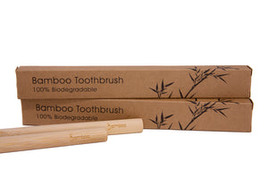 Bamboo Toothbrush by Bamboa