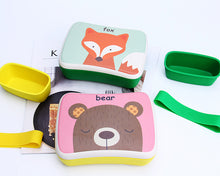 Load image into Gallery viewer, Bamboa Biodegradable Bamboo Fiber Lunch Box For Kids