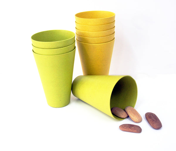 Bamboa Fibra Bamboo Round Tumbler Collection