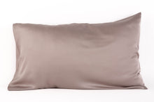 Load image into Gallery viewer, Bamboa's bamboo pillowcase made from bamboo fibers are the eco-friendly choice for your bed. Available in abalone color.