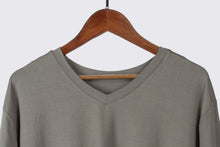Load image into Gallery viewer, ECOFLOW Ladies Bamboo V Neck T-shirt