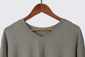 ECOFLOW Ladies Bamboo V Neck T-shirt