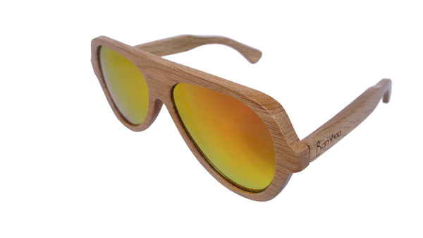 Bamboa Booshades Glasses Sunset Peak