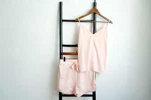 Silky Bliss Bamboo Camisole Set