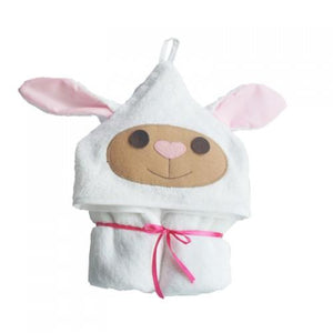 Bamboa Towels Bamboo Sheep Towel Hoodie and Bib Set