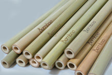 Load image into Gallery viewer, Bamboo Straws by Bamboa