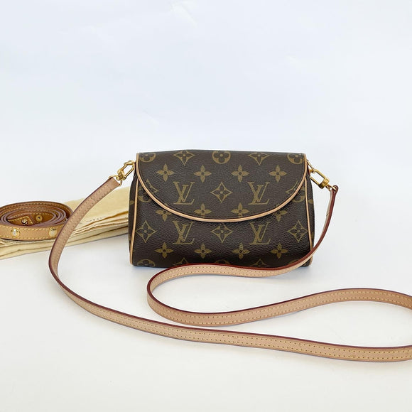 LOUIS VUITTON MONOGRAM POCHETTE BELT BAG/ CROSSBODY