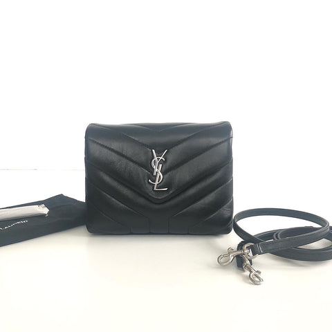 SAINT LAURENT LOULOU TOY CROSSBODY BAG