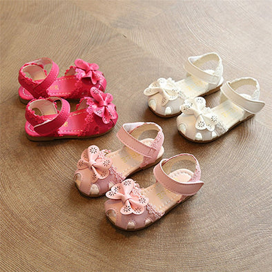 Summer Floral Bow-Knot Sandals