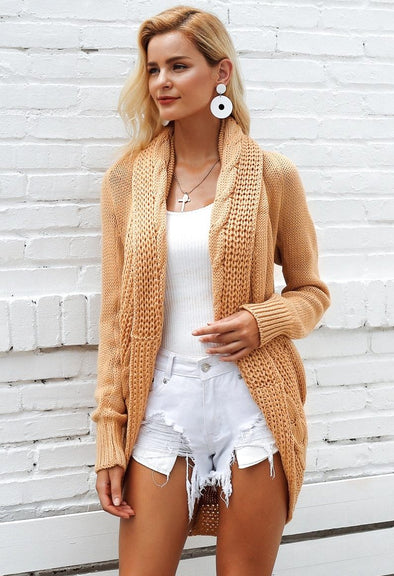 Women Elegant Autumn Cardigan