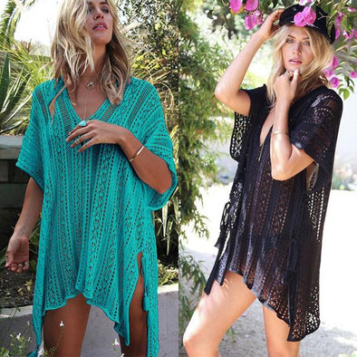 Women's Knit Beach Cover Up