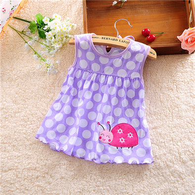 Lovely Bug Baby Girl Summer Dress