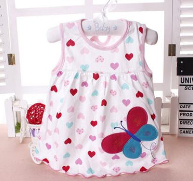 Butterfly Baby Girl Summer Dress