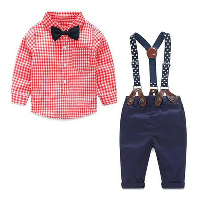 Bow Tie Baby Boy 2 Piece Set